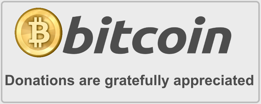 Bitcoin donate image